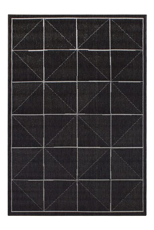 Patio Check Rug by Asiatic Rugs