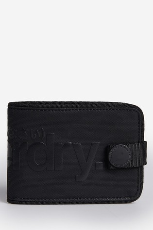 Superdry Camo Tarp Popper Wallet