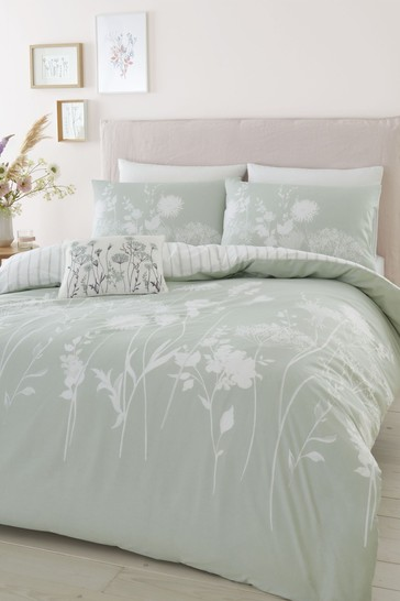Catherine Lansfield Meadowsweet Duvet Cover and Pillowcase Set