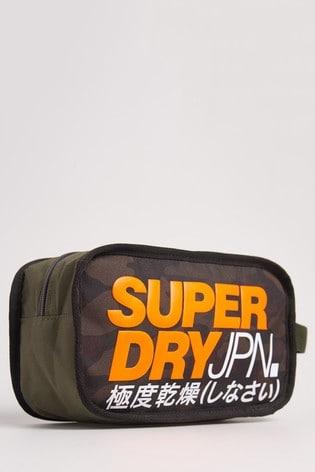 Superdry T Camo Washbag