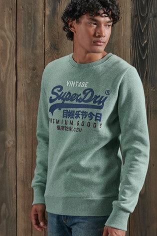 Superdry Vintage Logo Tri Crew Sweatshirt