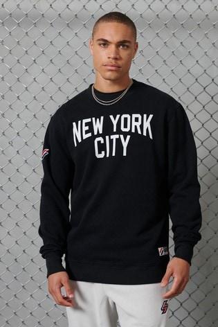 Superdry City College Oversized Sweatshirt