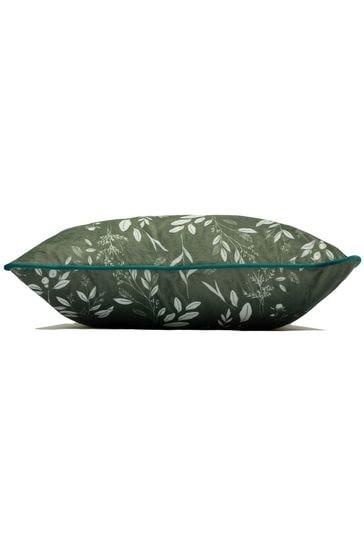 Furn Green Fearne Cushion