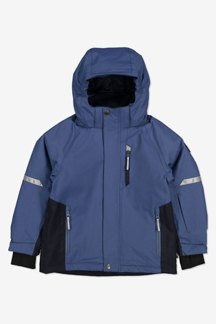 Polarn O Pyret Blue Waterproof Ski Padded Jacket