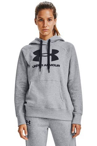 Under Armour Large Logo Rival Hoody
