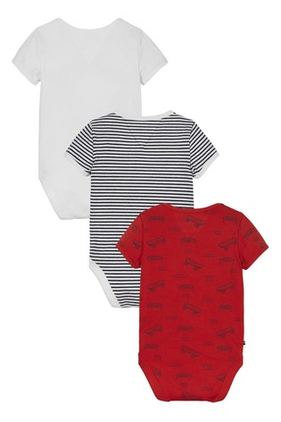 Tommy Hilfiger Red Baby 3 Pack Body Gift Pack