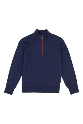 Barbour® Boys Half Zip Sweater