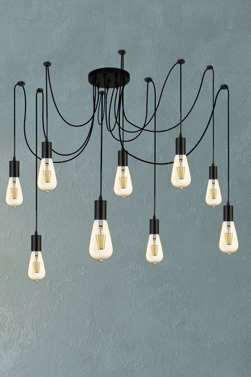 Suave 9 Light Pendant by Searchlight
