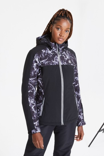 Dare 2b Black Burgeon Waterproof Ski Jacket