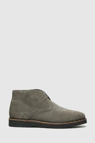 Schuh Grey Griffin Chukka Boots