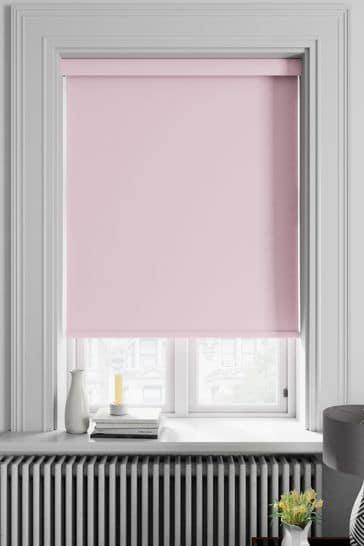 Haig Pink Made To Measure Blackout Roller Blind