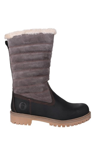 Cotswold Ripple Zip Up Boots