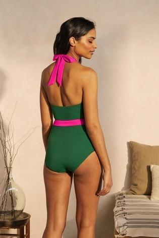 Boden Green Kefalonia Swimsuit