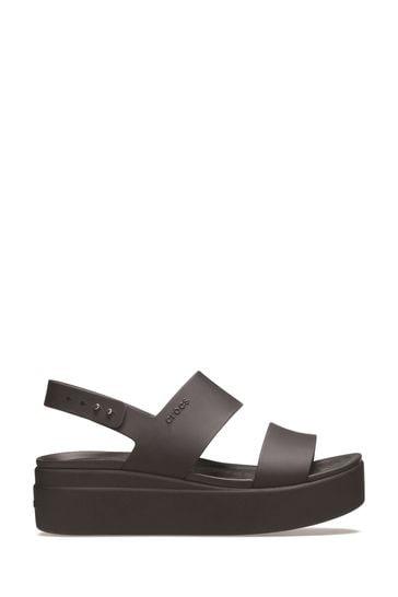 Crocs™ Brooklyn Low Wedge Platform Sandals