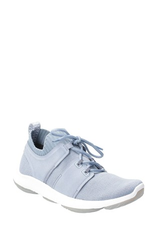 Hush Puppies Blue World BounceMax Lace-Up Trainers
