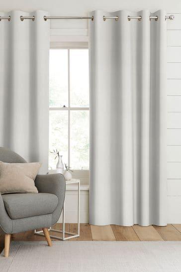 Jasper Ivory Cream Made To Measure Curtains