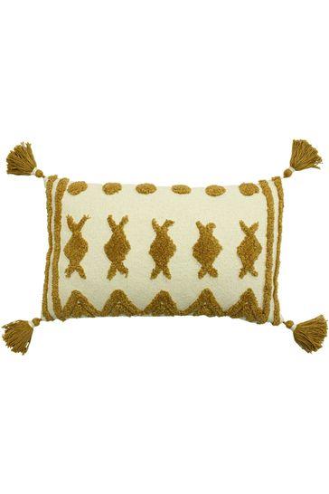 Esme Tassel Cushion by Furn