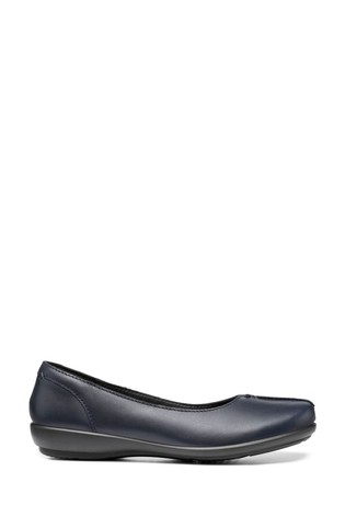 Hotter Robyn Wide Fit Slip-On Ballerina Shoes