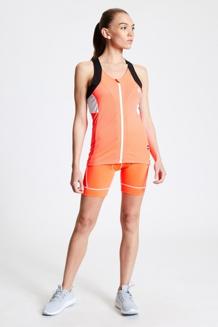 Dare 2b Orange Regale Full Zip Cycling Vest