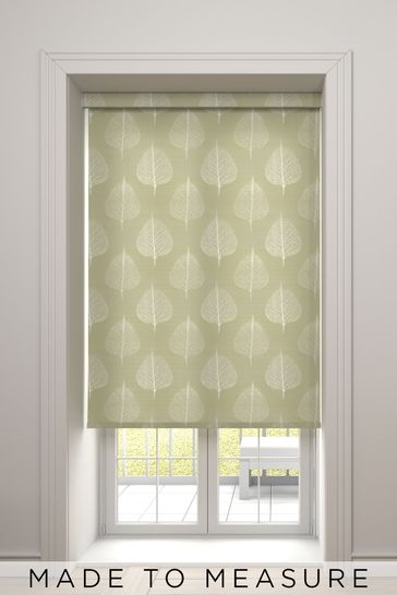 Rowen Pear Green Made To Measure Roller Blind