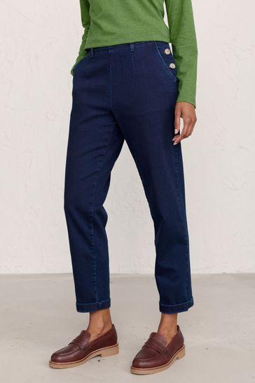 Seasalt Cornwall Blue Waterdance Trousers