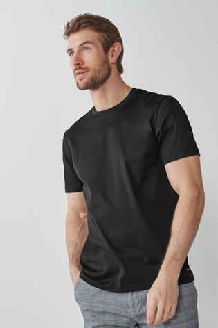 Black Premium Cotton T-Shirt