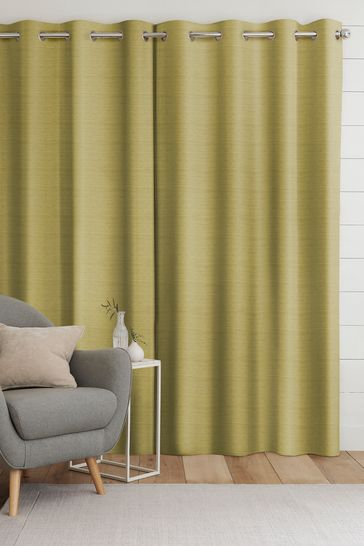 Jasper Lime Green Made To Measure Curtains
