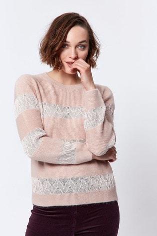 M&Co Lace Insert Jumper