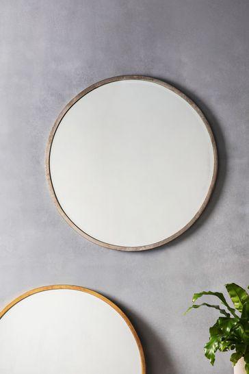 Gallery Direct Ashford Antique Large Round Mirror