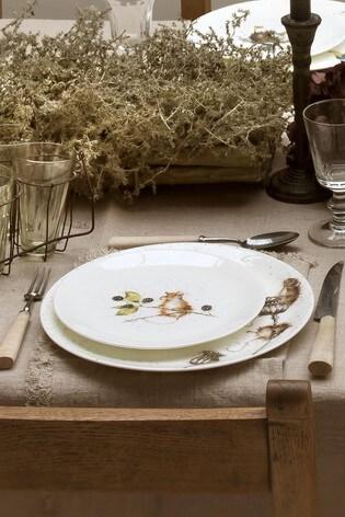 Set of 4 Royal Worcester Wrendale Mouse Side Plates