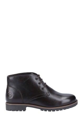 Cotswold Brown Mollington Below Ankle Boots