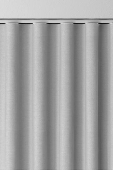 Cotton Light Grey Made to  Measure Curtains