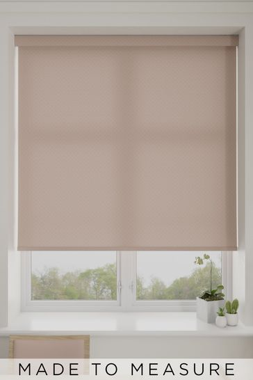 Mae Rose Pink Made To Measure Roller Blind