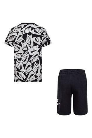 Nike Little Kids Printed T-Shirt And Shorts Set