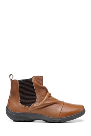 Hotter Ripon Wide Fit Zip Fastening Ankle Boots