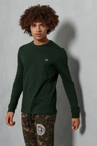 Superdry Organic Cotton Sportstyle Long Sleeve Top