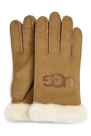 UGG® Chestnut Turn Cuff Gloves