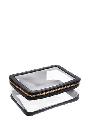 Accessorize Clear Travel Pouch