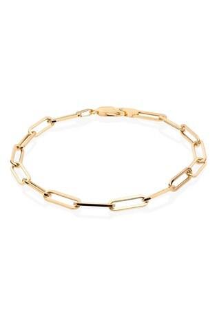 Beaverbrooks 9ct Gold Link Bracelet