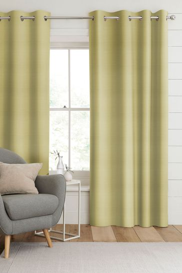 Jasper Sorbet Yellow Made To Measure Curtains