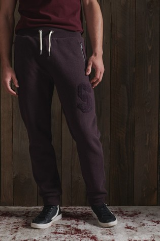 Superdry Track & Field Embroidered Joggers