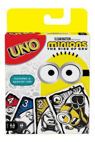 Mattel Games UNO Minions The Rise Of Gru