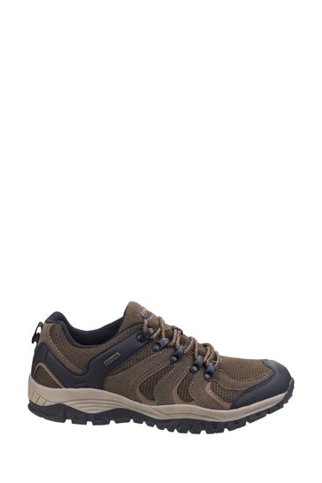 Cotswold Brown Stowell Low Hiking Shoes