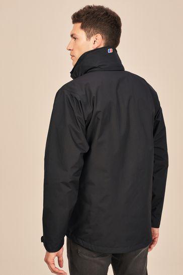 Berghaus Jet Black Alpha Waterproof Jacket