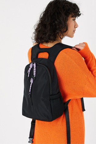 Accessorize Black Running Backpack