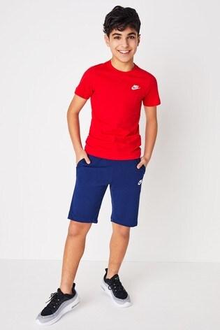 Nike Blue Club Fleece Short