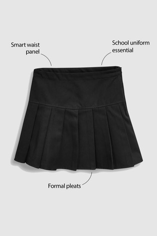 Black Pleat Skirt (3-16yrs)