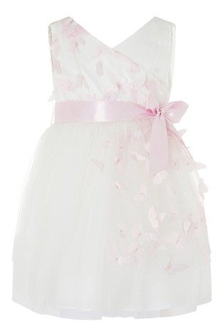 Monsoon Natural Baby 3D Butterfly Dress