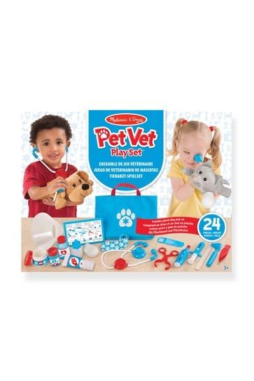 Melissa & Doug Pet Vet Examine Treat Play Set
