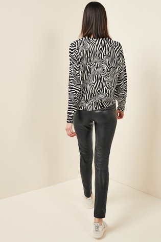 Mix/Lab Leather Trousers